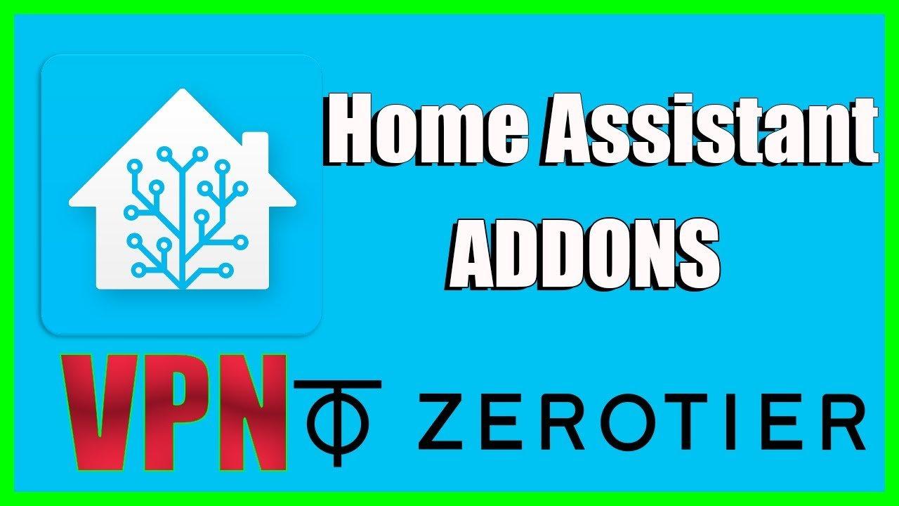 Zerotier Home Assistant ZonaGadget