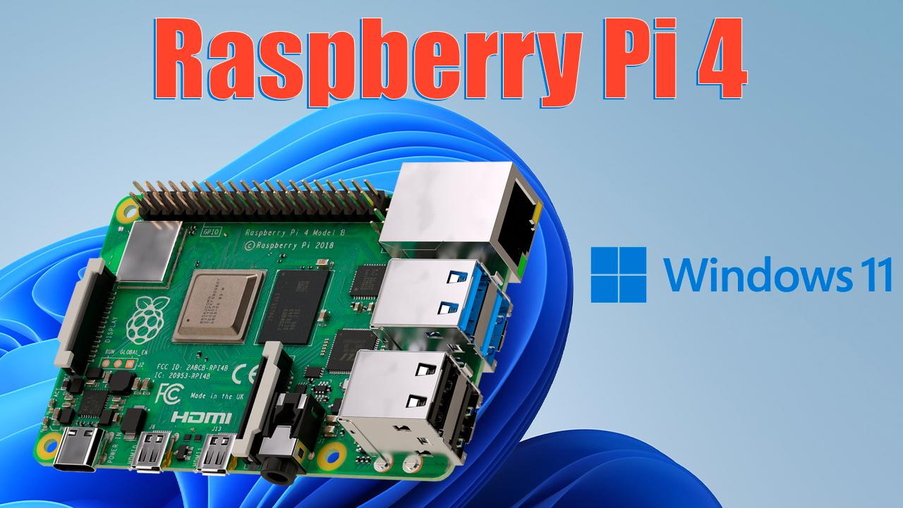 Windows 11 en Raspberry Pi 4